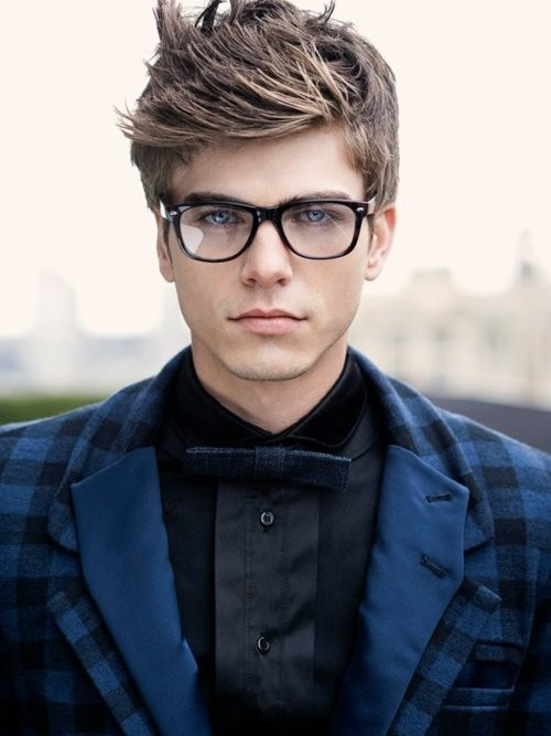 Guys with thick glasses