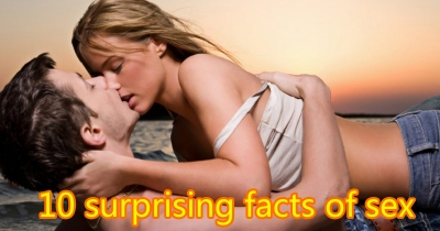10 surprising facts of sex