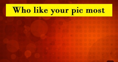 आप की फोटो को सब से ज्यादा लाइक कौन करता है
