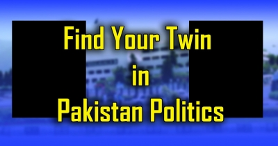 Which Pakistani Politician more slimier to you.