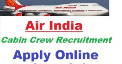 Air India Recruitment 2018 – Apply Online for 500 Cabin Crew