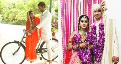 Aishwarya Rai and Tej Pratap Yadav bicycle romance