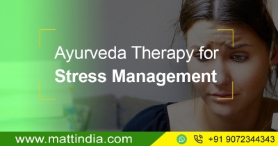 Ayurveda Therapy for Stress Management