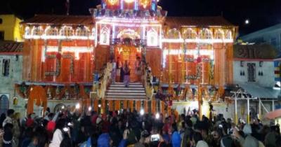 केदारनाथ के बाद आज खुले बद्रीनाथ धाम के कपाट, उमड़े श्रद्धाल