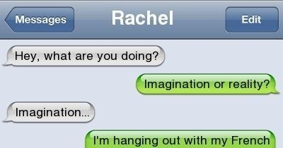 best friends convo!! :P