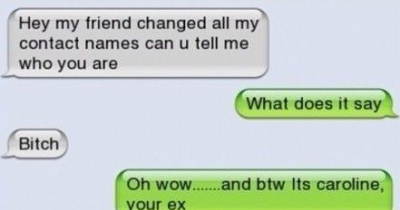 convo with yur ex! :'D