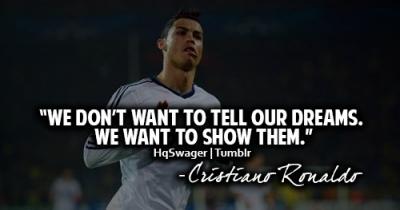Cristiano Ronaldo (Cr7) Quote #1