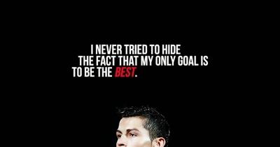 Cristiano Ronaldo (Cr7) Quote #4