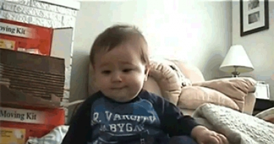 Cute Laughing Baby!