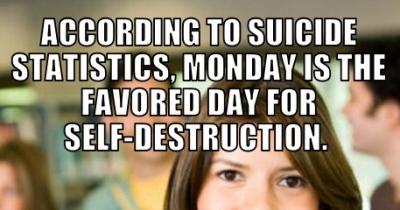 Everybody hates Mondays...
