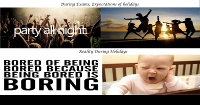 Expectations Vs Reality of Holidays
