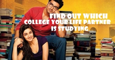 FIND OUT WHICH COLLEGE YOUR LIFE PARTNER IS STUDYING