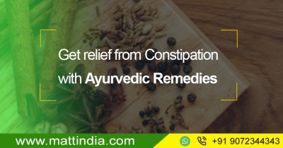 Get relief from Constipation with Ayurvedic Remedies