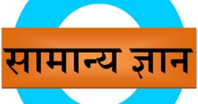 सामान्य ज्ञान क्विज GK Quiz in Hindi