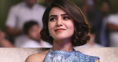 Gorgeous Samantha at RANGASTHALAM success meet