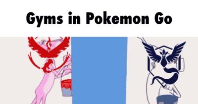 Gyms in Pokemon Go