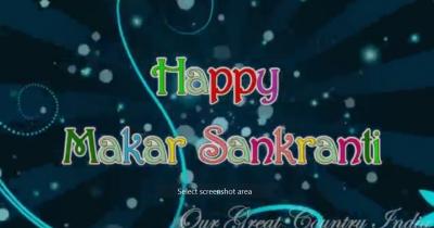 happy makarsankranti to all of you