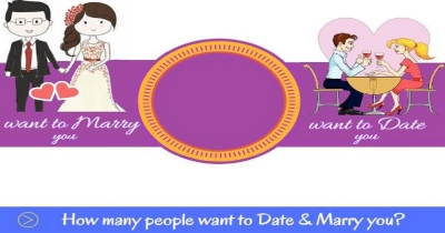 How many people want to date & marry you ?