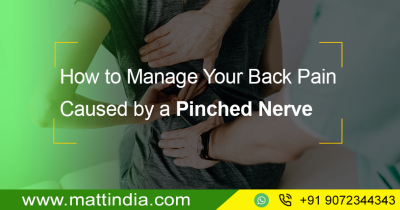 How to Manage Your Back Pain Caused by a Pinched Nerve