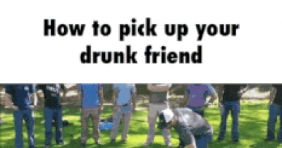 How To Pick Up Your Drunk Friend