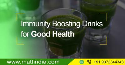 Immunity Boosting Drinks for Good Health