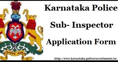 KSP Recruitment 2018 - 164 Vacancies for Police Sub Inspec