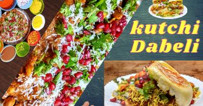 Kutchi Dabeli Recipe | अब घर में ही बनाएं स्वादिष्ट कच्छी दाबेली | Food Craviotic | Amit Advani
