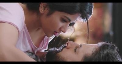 Lie Movie Romantic Scene || Megha Akash