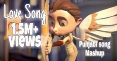 Love song 2017 | Animated Video Mashup | Cartoon character video | Punjabi love Mashup