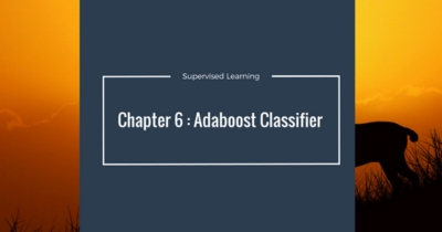 Machine Learning - Adaboost Classifier