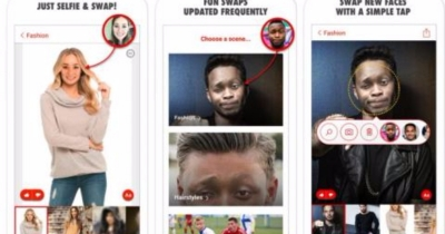 Microsoft Releases 'Face Swap' App