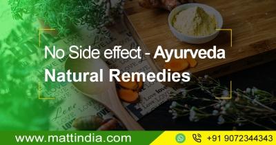 No Side effect – Ayurveda Natural Remedies