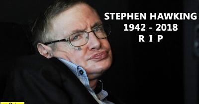 Nobel Prize winning scientist Stephen Hawking Dies at 76