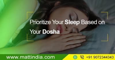 Prioritize Your Sleep Based on Your Dosha