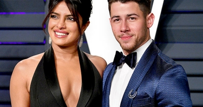 Priyanka-Nick attend Oscar after-party