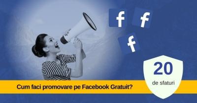 Promovare pe Facebook – 20 de trucuri Gratuite 2019