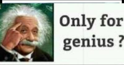 Question:- If u r genius solve it: