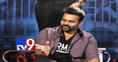 Sai Dharam Tej about Ram Charan - NTR movie with Rajamouli || TV9 Excluisve