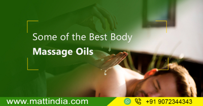 Some of the Best Body Massage Oils