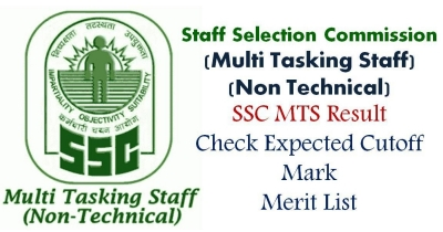 SSC Result – Staff Selection Commission (Tier-2)