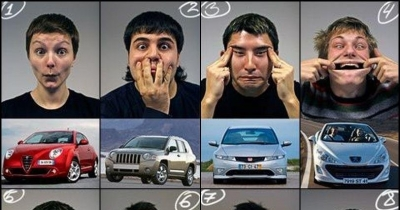 The car has a face...The car is not no one