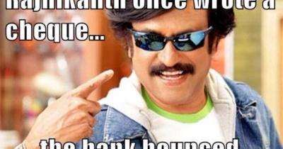 The Top 5 Rajnikant memes.