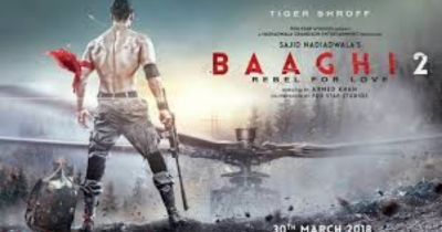 tiger sherof BAGHI 2 latest official trailer luanched.//