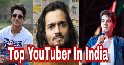 Top 10 Individual Youtuber In India