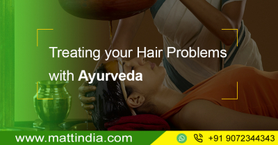 Treating your Hair Problems with Ayurveda