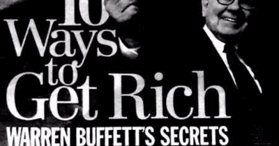Warren Buffett's 10 Ways to Get Rich.