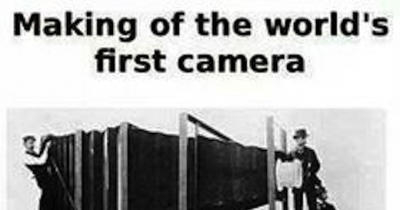 Was the first photograph taken, a SELFIE??