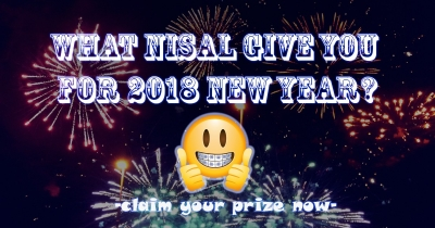 What Nisal Give You For 2018 New Year?