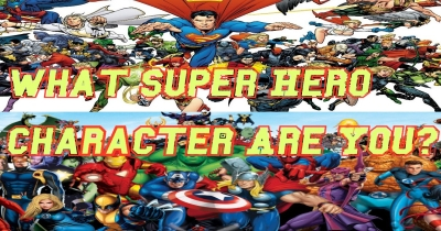 What Super Hero Character Are You?