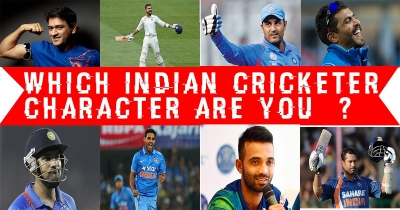 Which INDIAN cricketer character are you?